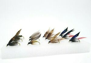 12 Classic Wet Flies I Fly Fishing Kit Set River Trout Grayling Fly Selection