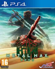 Metal Max Xeno PS4 Playstation 4 NIS AMERICA