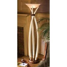Man Made Faux Elephant Tusks Floor Lamp Sculpture Light Hunter Trophy Art Dad