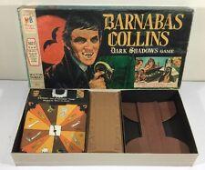 Vintage 1969 Barnabas Collins DARK SHADOWS Board GAME Complete  + Fangs Ex+