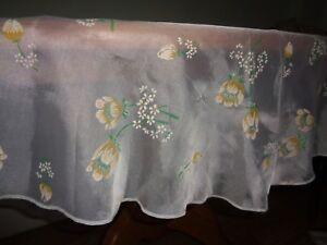 1950s Circular Table Cloth