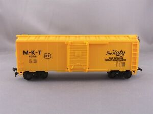 Life Like - M-K-T - 40' Box Car + Wgt # 90186