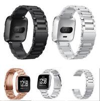 For Fitbit Versa Lite Smart Watch Bands Strap Alloy Metal Bracelet Wrist Band US