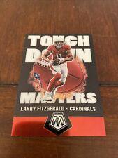 2020 Panini Mosaic Larry Fitzgerald Touchdown Masters Insert Cardinals HOF TM-17