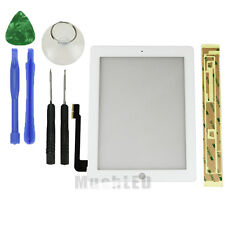 Touch Screen Glass Digitizer Replacement for The New iPad 3 /iPad 4 Black/White