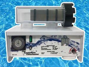 NEW Aussiemate RP15 Salt Water  Pool Chlorinator Self-Cleaning Low Maintenance