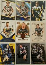 ✺Signed✺ 9 x Michael Morgan (Cowboys) Lot of NRL Rugby League cards