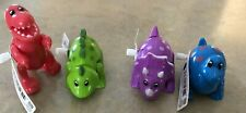Rich Frog Dino  Wind-Up Toys Lot Of 12