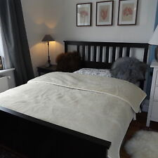 top manta de lana Manta de día Colcha lana virgen 200x220cm