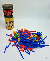 Vintage Crazy Ikes Whitman 1957 Plastic Play Set #4731 Original Tube & 200+ Pcs!
