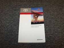 2013 Toyota Yaris Navigation System Owner Owner's Operator Manual L LE SE CE