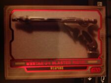 Star Wars 2012 Galactic Files 2 #602 Westar-34 Blaster Pistol RED Parallel 32/35