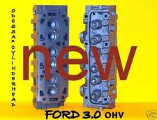 2 NEW FORD RANGER TAURUS 3.0 OHV CYLINDER HEADS 7mm (SMALL SPRING)00-08 NO CORE