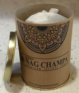 Goloka Can of 24 Backflow Nag Champa Cones!