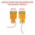 Nintendo Game Boy Advance Cable Backlight Backlit Adapter AGS 101 40 OR 32 PIN