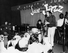 "Buddy Rich, Playing at ""Up Stairs at Just Jazz""NYC  8 x 10 Photograph"