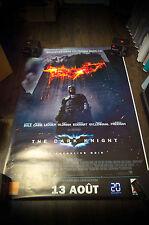 BATMAN DARK KNIGHT Style A 4x6 ft Bus Shelter D/S Movie Poster Original 2008