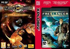 freelancer & Space Rangers hd    new&sealed