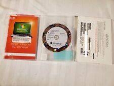 Windows 7 Home Premium  64bit OEM System Builder DVD 1 Pack Pre Owned