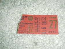 1979 New York Knicks v Milwaukee Bucks Basketball Ticket 1/21