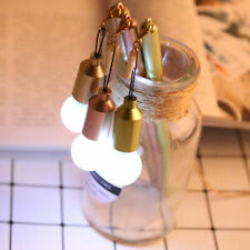 Funny Dust Plug LED Light Bulb Shape Pen School Stationery Writing Supplies