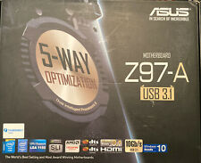 asus z97-a motherboard with Intel i7/i5/i3 32GB (some Socket Pins Are Bend)