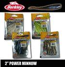 "Berkley 2"" Power Minnows Soft Plastics 18pc Trout favorite"