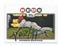 Cincinnati Reds Signed Autographed Cards YOU PICK Combined Shipping