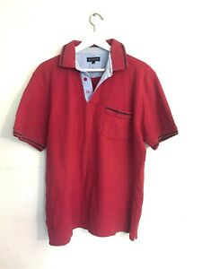 DUCHAMP POLO Shirt, Red, Size L
