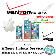 VERIZON USA iPhone 5,5S,6,6+,6S,6S+,7,7+ OFFICIAL UNLOCK SERVICE  1 - 5 DYS