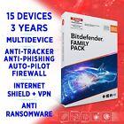 Bitdefender Family Pack 2021 15 devices 3 years, FULL EDITION + VPN