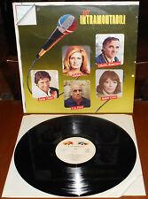 LP GLI INTRAMONTABILI (G&G/Orizz 80 ITALY) Italian sung pop Dalida Distel VG+