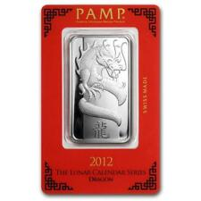1 oz Silver Bar - PAMP Suisse (Year of the Dragon) #PAPPS22131 Lot 20161327