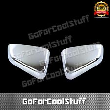 FOR 2010-2014 FORD MUSTANG TOP HALF MIRROR Chrome Cover