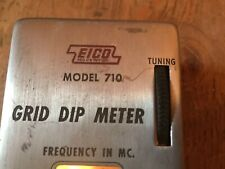 Eico  Model 710 Grid Dip Meter Electronic Instrument Co. Powers up
