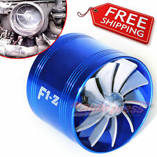AIR INTAKE FAN B Turbo Supercharger Turbonator Charger Gas Fuel Saver for SUZUKI