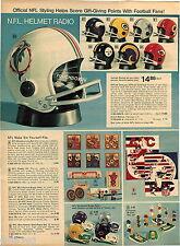 1974 ADVERT NFL Helmet Radio Dune Buggy Buggys