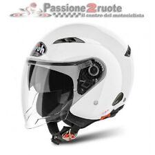 Casco jet Airoh City one bianco taglia L white helmet casque