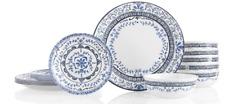 Chip Resistant Dinnerware Set, Glass, Portofino by Corelle 18pc