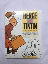 BD - Herge et Tintin reporters du vingtième / EO 1986 / GODDIN / LOMBARD