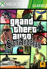 Microsoft Xbox 360 Spiel * GTA San Andreas HD Grand Theft Auto