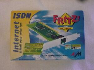 in Ordnung: AVM Fritz!Card PCI 2.0 20001700 ISDN passiv +Zubehör +Garantie