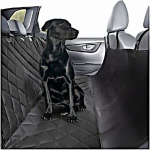 Dog Car Seat Cover Pet Hammock Waterproof Back Rear Protector Quilted Non Slip