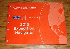 Original 2015 Ford Expedition Lincoln Navigator Wiring Diagrams Manual 15
