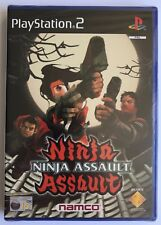 PS2 Ninja Assault (2002) UK Pal NTBSS, Brand New & Sony Factory Sealed