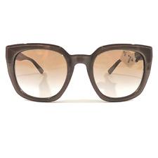 New Donna Karan DKNY Sunglasses DY4144 3723/13 Tan Brown Gradient 52-22-135