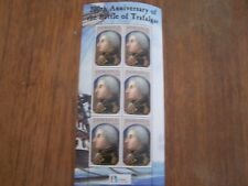 JAMAICA,2005,200TH ANNIV OF BATTLE OF TRAFALGAR,$30 VAL SHEETLET OF 6,U/MINT.