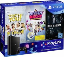 SONY PlayStation 4 500GB inkl. Wissen ist Macht + Hidden Agenda + That's NEU OVP