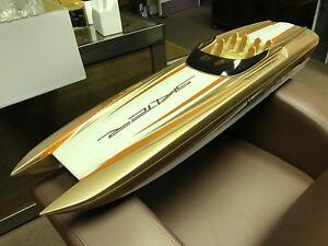 **Traxxas Catamaran RC Boat**   Skater paint scheme