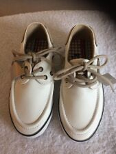Boys Next New With Tags White Deck Shoes Size Kids 10